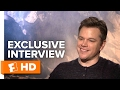 Matt Damon and Zhang Yimou Exclusive 'The Great Wall' Interview (2017)