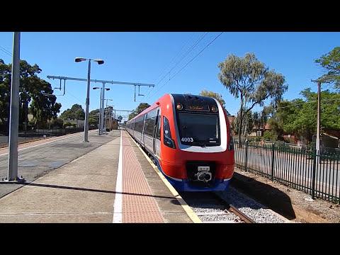 Electric Train Adelaide, South Australia
