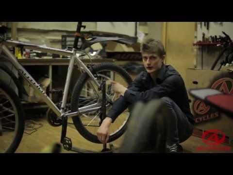 Проверка горного велосипеда перед новым сезоном