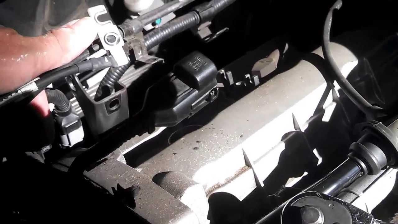 2007 Kia Sportage Ex Plenum Rear Spark Plug Replacement