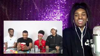 """Reacting to """"TIN CAN CHALLENGE FT. AR'MON AND TREY *GONE WRONG*"""""""