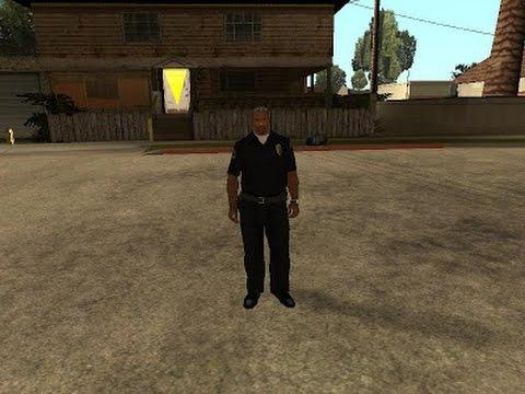 como conseguir el traje de policia y los trajes especiales en el GTA San Andreas