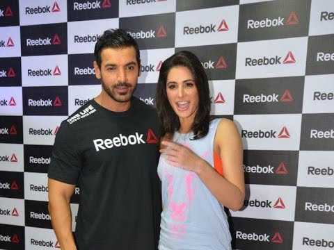 John Abraham, Nargis launch Reebok fitness store