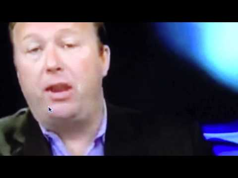 Alex Jones Live Reptilian Fangs & Lizard Tongue ShapeShifting (HD)