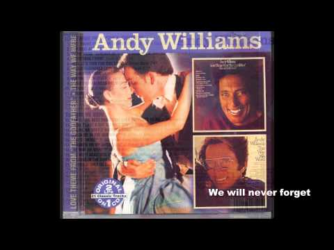 Andy williams original album collection  Old Fashioned Love Song