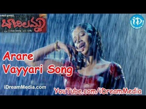 Jabilamma Movie Songs - Arare Vayyari Song - Rajiv Kanakala - Navneet Kaur