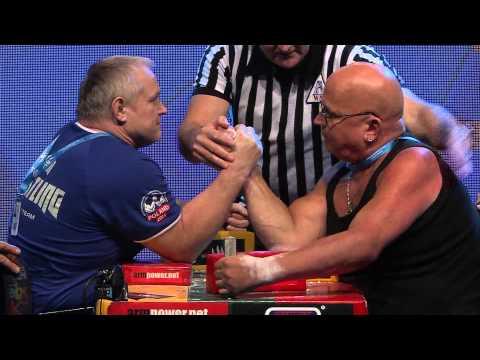 I World Armwrestling Championship for Disabled - senior men right arm1 +75kg 1st