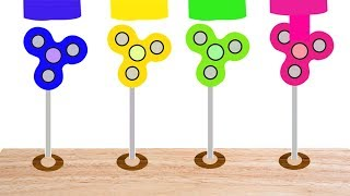 Learn Colors With Spinner For Kids || Learning Spinner || Video For Children
