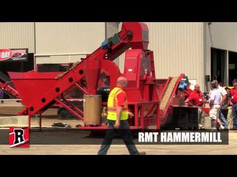 Scaled Down Test Rotochopper RMT Hammermill