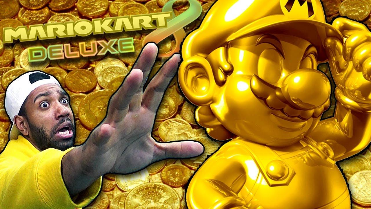 Gold mario mario kart 8 deluxe