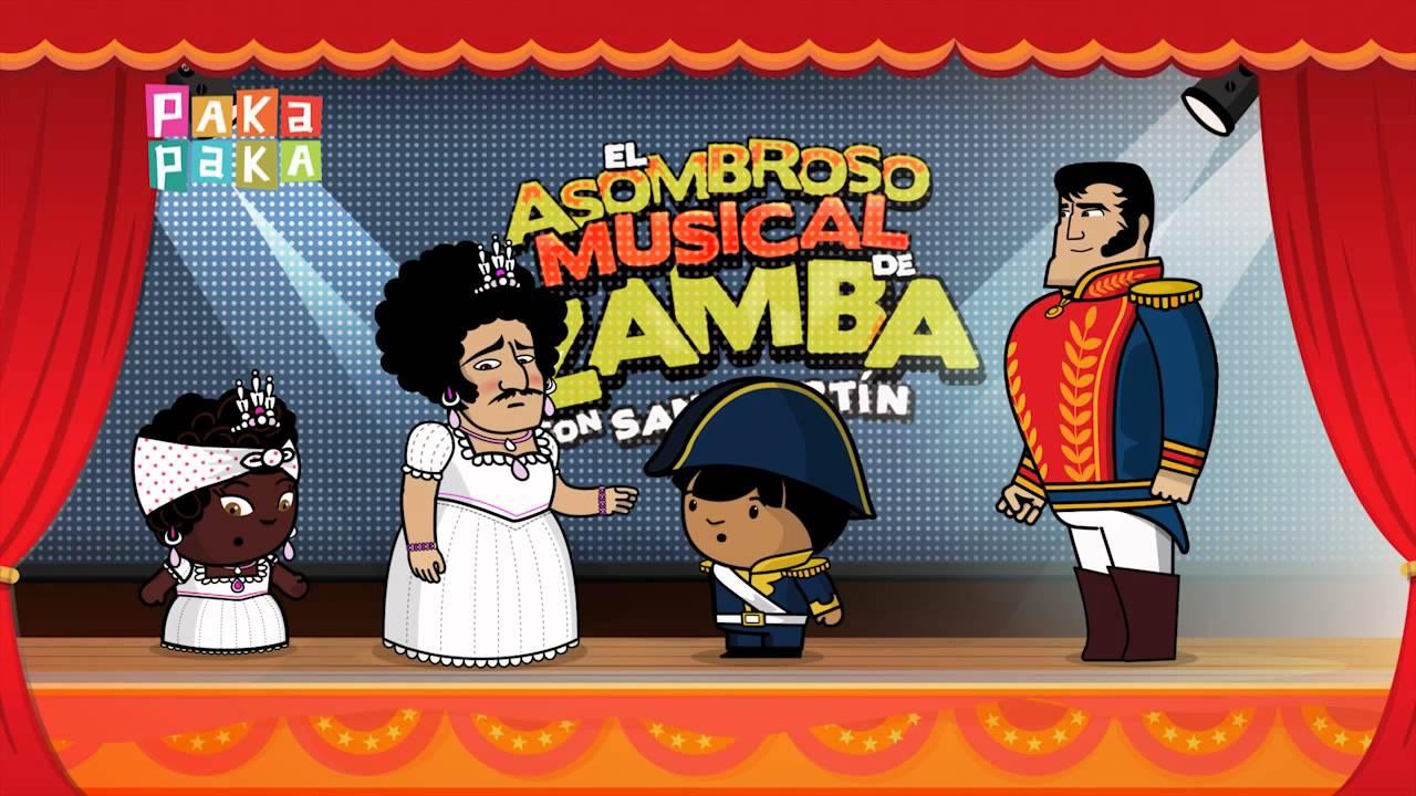 El asombroso musical de zamba ven disfrazado canal for El asombroso espectaculo zamba