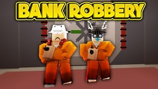 ROBBING THE BANK ROBLOX Jailbreak