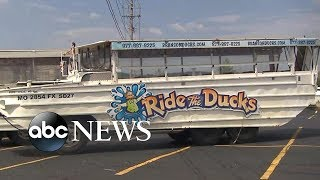 NTSB investigating duck boat accident
