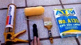 Cách chống thấm nhà mùa mưa hiệu quả và rẻ nhất quả đất