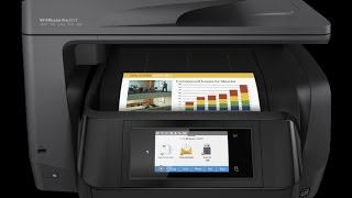 Unboxing: Impressora Multifuncional HP Officejet All-in-One  Pro 8725