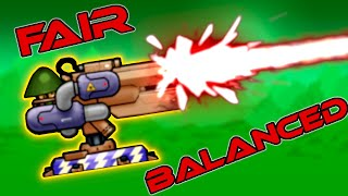 FIREBEAMS are FAIR and BALANCED (Sweeping Beam Exploit) - Forts RTS [156]