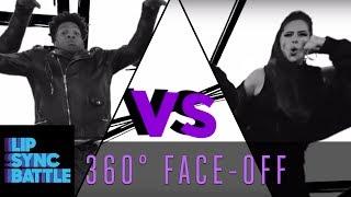 Ashley Graham vs. Jermaine Fowler: 360° Face-Off   Lip Sync Battle