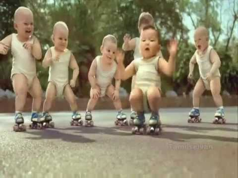 Baby Group Dancing - Animation video