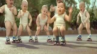 Baby group dancing - Animation