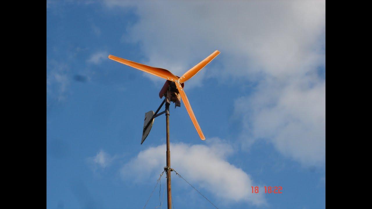 Аксиальный ветряк своими руками