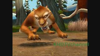 Ice Age 2 The Meltdown Walkthrough part 2 - Forest and Diego's Challenge
