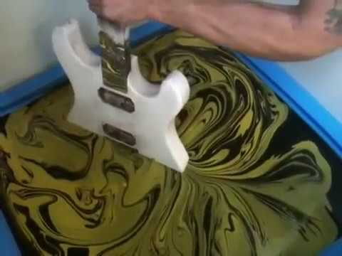 SWIRLING(Yellow & Black Custom Guitar) Music Videos