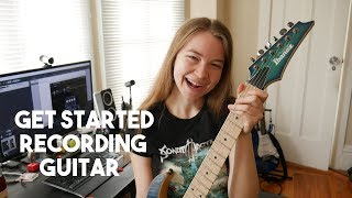 How to Record Guitar Videos (Audio & Video)