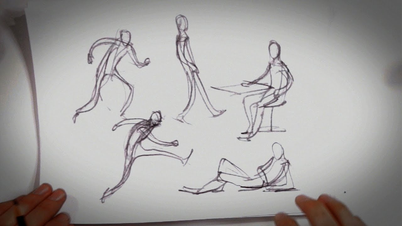Language Movement Drawing 6 Tips About Gesture Drawing