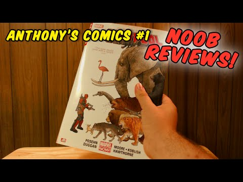 Reviewing Anthony's Comics: NOOB REVIEWS!!! 7/21/16