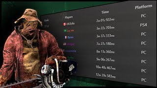 World Record Fastest 4k in Dead by Daylight!!!