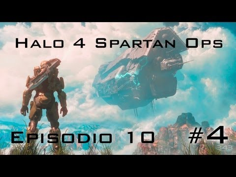 Halo 4: Spartan Ops | Episodio 10 (4/4) | Exodo | Espaol | Let's Play / Walkthrough