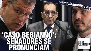 Caso 'Gustavo Bebianno x Carlos Bolsonaro': Senadores Kajuru, Reguffe e Telmário se pronunciam