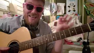 Mike Posner Move On Easy Guitar Tutorial Beginner