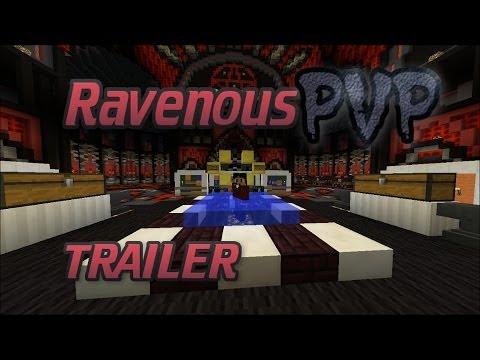 [Minecraft] RavenousPVP Server Trailer | Cracked | 1.7.4 | 24/7 | NO HAMACHI