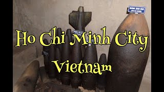 Ho Chi Minh City   Vietnam   Cu Chi Tunnels   Cao Dai Temple
