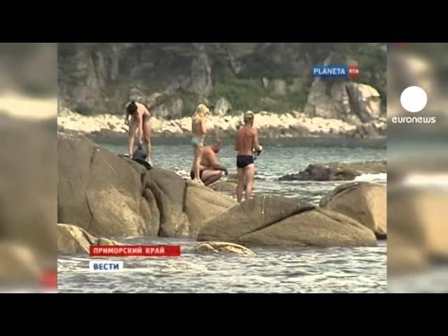 Dos jóvenes sufren ataques de tiburón en el este de Rusia