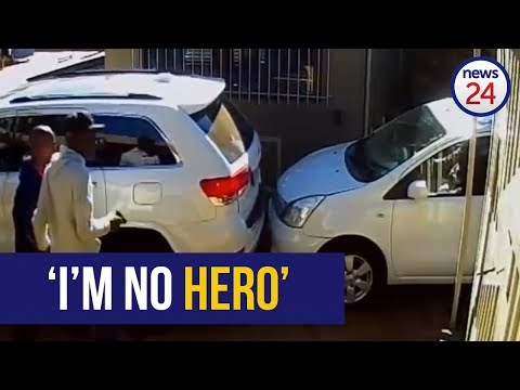 WATCH: 'I'm no hero' - says Alberton woman who rammed her vehicle into armed hijackers