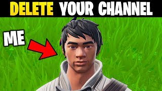I Pretended To Be The ANGRIEST Fortnite Player..