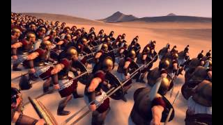 spartan hoplite phalanx vs Roman legion. Who wins?