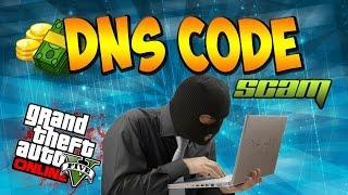 "GTA 5 DNS Code MONEY SCAM - ""NillxModz"" Fake ""GTA 5 DNS Codes"" (GTA V Gameplay)"
