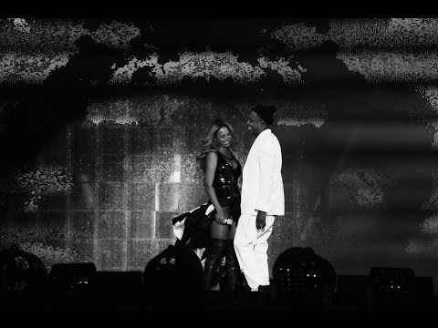 "Jay-Z & Beyonce Perform ""Young Forever/ Halo"" (On The Run Tour)"