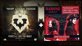 Power vs. Live The Night vs. Seven Nation Army vs. Like This (Hardwell Mashup)