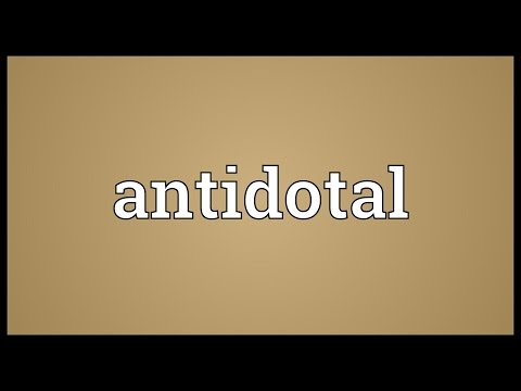 Header of antidotal
