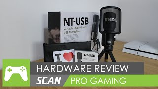 Rode NT-USB Condenser Microphone & PSA1 Boom Arm Review!