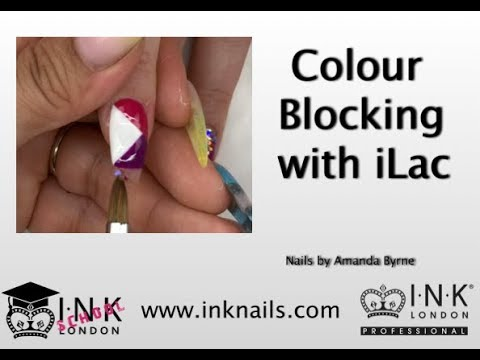 Colour blocking with INK London iLac