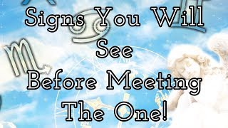 """Pick A Card Reading:💕🔮Signs You Will See Before Meeting """"THE ONE/TWIN FLAME""""!🔮💕"""