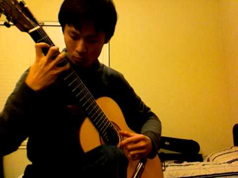 Prelude from BWV 998 by JS Bach - Ray Zhou on 7 String Guitar - www.rayzhou.com