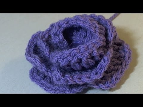 Crochet Popcorn Stitch Tutorial