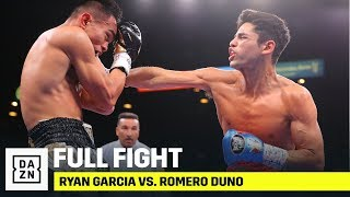 FULL FIGHT | Ryan Garcia vs. Romero Duno