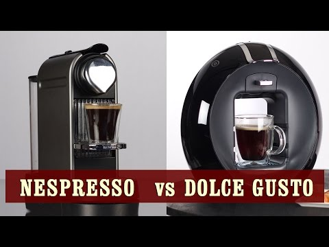 dolce gusto vs nespresso review comparison youtube. Black Bedroom Furniture Sets. Home Design Ideas